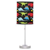 Dinosaur pattern kids fun table lamp