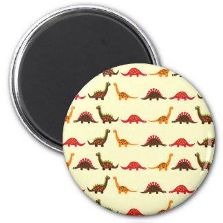 dinosaur pattern magnet