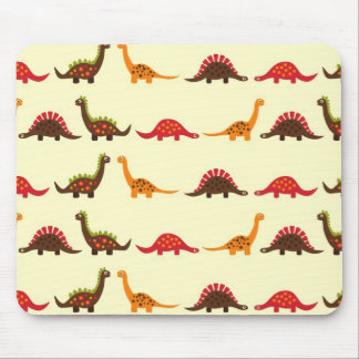 dinosaur pattern mouse pad