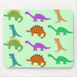 Dinosaur pattern mousepad