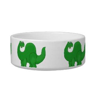 Dinosaur Pet Bowl petbowl