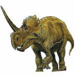 """Dinosaur Photo Sculpture Centrosaurus Gregory Paul<br><div class=""""desc"""">Color art by Gregory Paul.</div>"""
