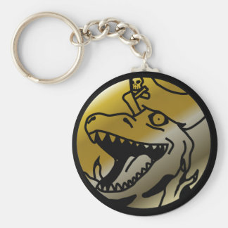 Dinosaur Pirate keychain