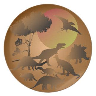 Dinosaur Plate