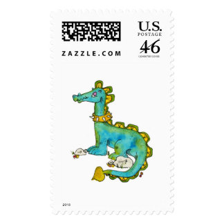 Dinosaur Postage