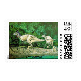 Dinosaur Postage Dryosaurus by Gregory S. Paul