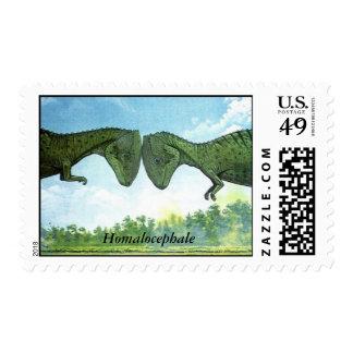 Dinosaur Postage Homalocephale Gregory Paul