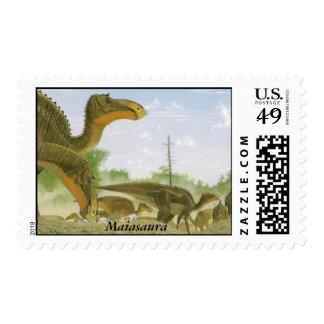 Dinosaur Postage Maiasaura Gregory Paul