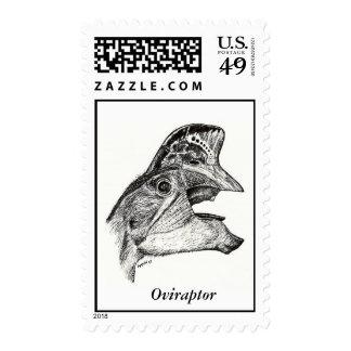 Dinosaur Postage Oviraptor Gregory S. Paul