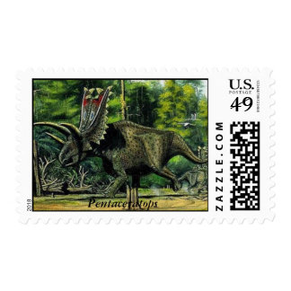 Dinosaur Postage Pentaceratops Gregory S. Paul
