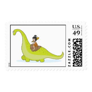 Dinosaur Postage Stamp