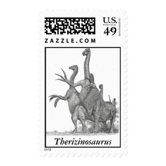 Dinosaur Postage Therizinosaurus by Greg Paul