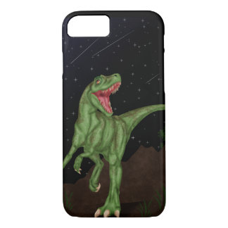 Dinosaur - Prehistoric Night iPhone 7 Case