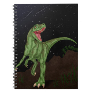 Dinosaur - Prehistoric Night Notebook