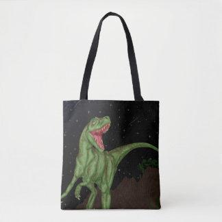 Dinosaur - Prehistoric Night Tote Bag
