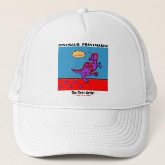 Dinosaur Printmaker Trucker Hat