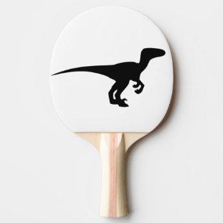 Dinosaur Raptor, Dino Design Ping-Pong Paddle