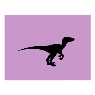 Dinosaur Raptor, Dino Design Post Cards