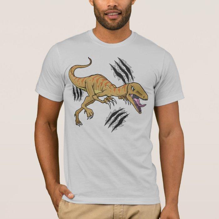 Dinosaur Raptor Ripping Claw  T-Shirt