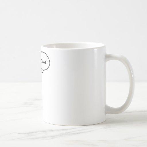 Dinosaur rawr! classic white coffee mug