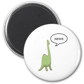 Dinosaur rawr! magnet