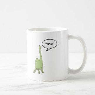 Dinosaur rawr! coffee mug