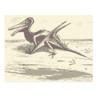 Dinosaur: Rhamphorhynchus Postcard