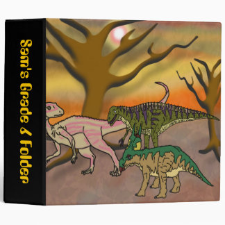 Dinosaur Romp Binder