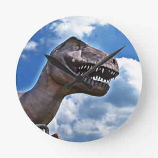 Dinosaur!!! Round Clock