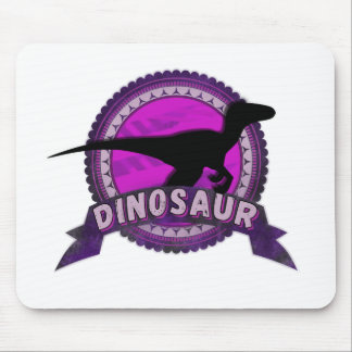 Dinosaur RWS gate pink one Mouse Pad