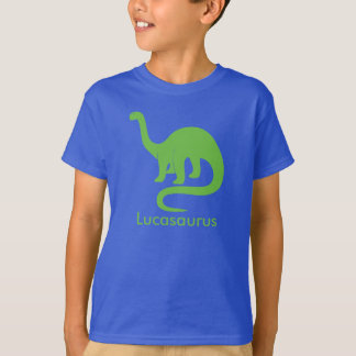 Dinosaur Silhouette Personalize T-Shirt