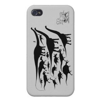 Dinosaur Silhouettes iphone Speck Case Greg Paul iPhone 4/4S Case