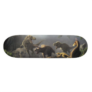 Dinosaur skateboard