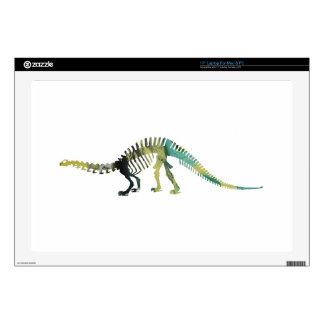 "Dinosaur Skeleton Decal For 17"" Laptop"