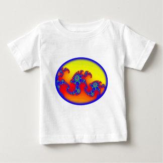 Dinosaur Skeleton Fractal T-shirt