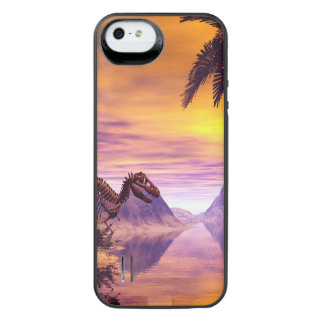 Dinosaur Skeleton Uncommon Power Gallery™ iPhone 5 Battery Case