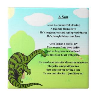 Dinosaur - Son poem Tile