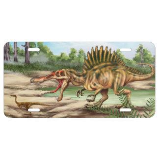 Dinosaur Species License Plate