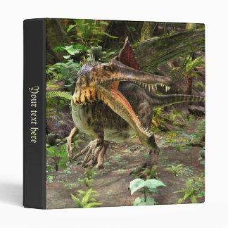 Dinosaur Spinosaurus 3 Ring Binder