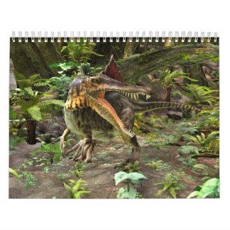 Dinosaur Spinosaurus Calendar