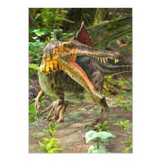Dinosaur Spinosaurus Magnetic Card