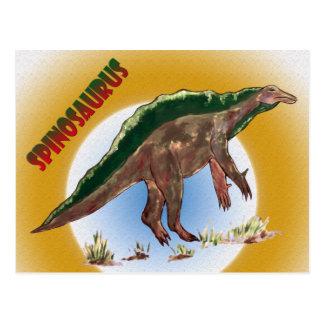 Dinosaur Spinosaurus Postcard