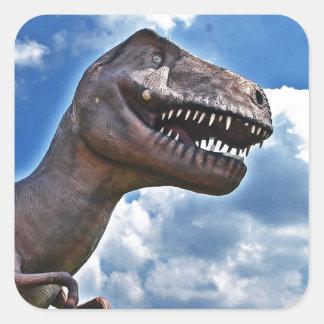 Dinosaur!!! Square Sticker