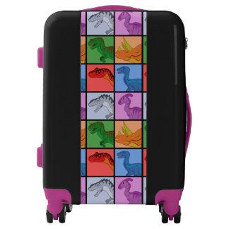 Dinosaur Squares Luggage