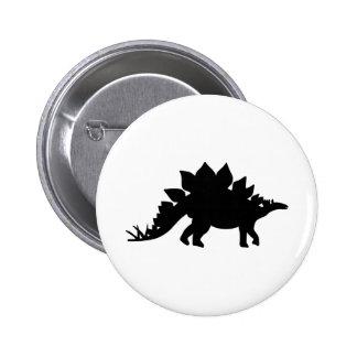 Dinosaur Stegosaurus Buttons