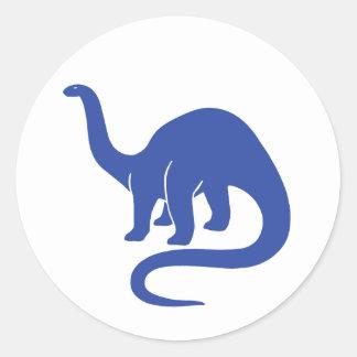 Dinosaur Sticker - Blue
