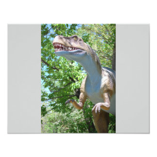 Dinosaur T-Rex Card