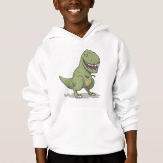 Dinosaur T Rex Cartoon Hoodie