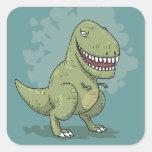 Dinosaur T Rex Cartoon Sticker