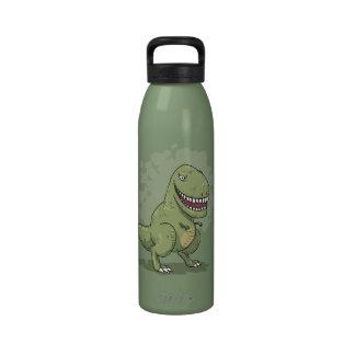 Dinosaur T Rex Cartoon Water Bottles